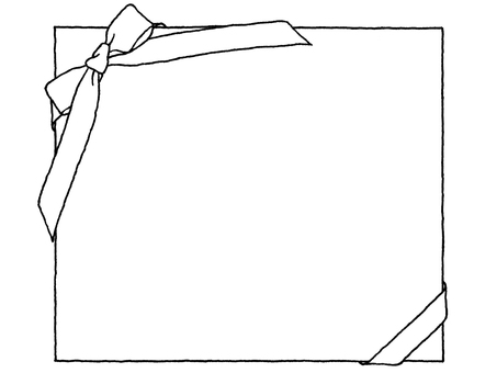 Notepad (Ribbon) Black and White