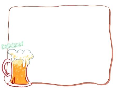 Delicious beer's memo pad - Simple ver