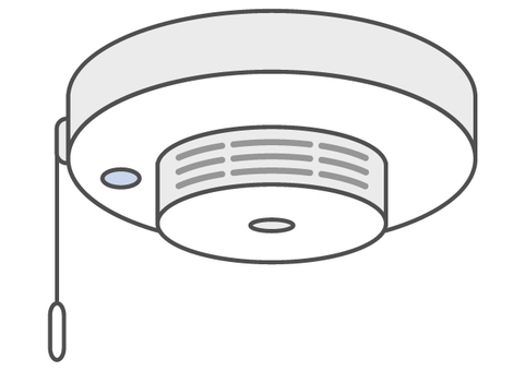 Fire alarm thermal type _ color