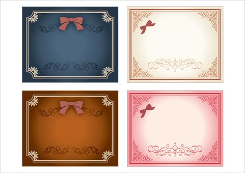 Decorative ruling set 01