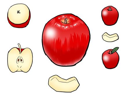 りんご・カットりんご
