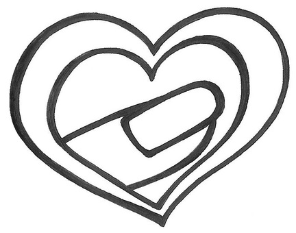 Nail heart