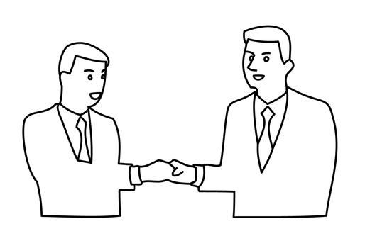 Handshake businessman 1-1