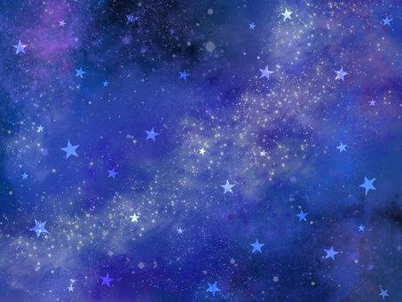 星々 天の川 銀河