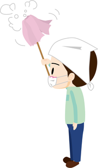 Hataki cleaning (male)