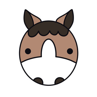 Horse _ Icon _ deer hair