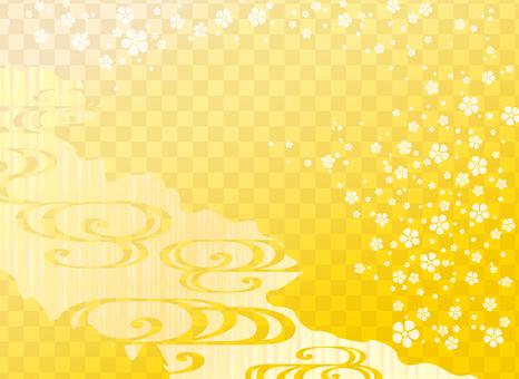 Pop Japanese pattern (Yellow)