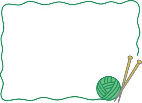 紗架(綠色)
