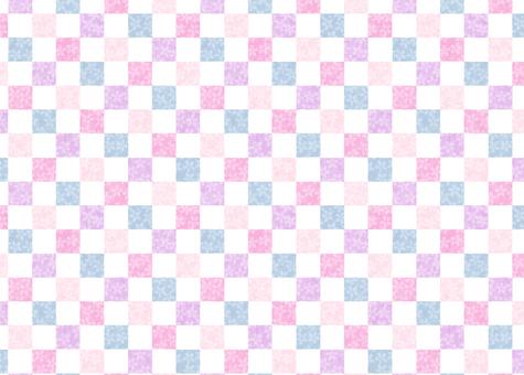 Cherry lattice pattern multicolor ③