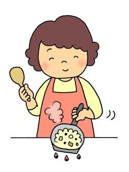 Food (fried rice)