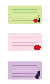 Summer vegetable frame small 3 types