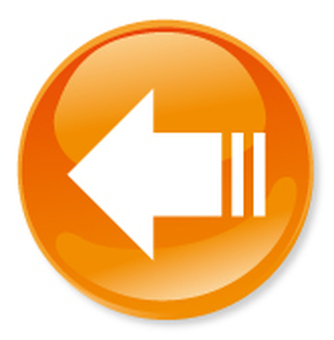 Arrow icon - Orange