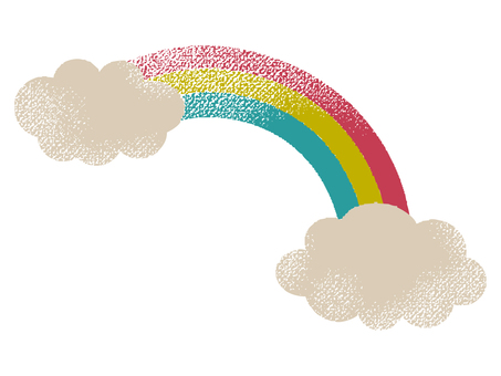 Rainbow and cloud 001