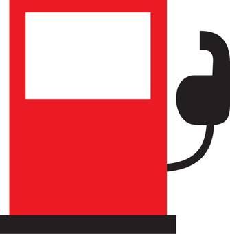 Gasoline fueling machine