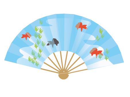 Fan goldfish