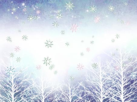 Winter trees 03