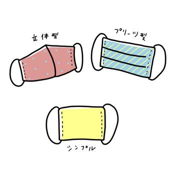 3 cloth masks