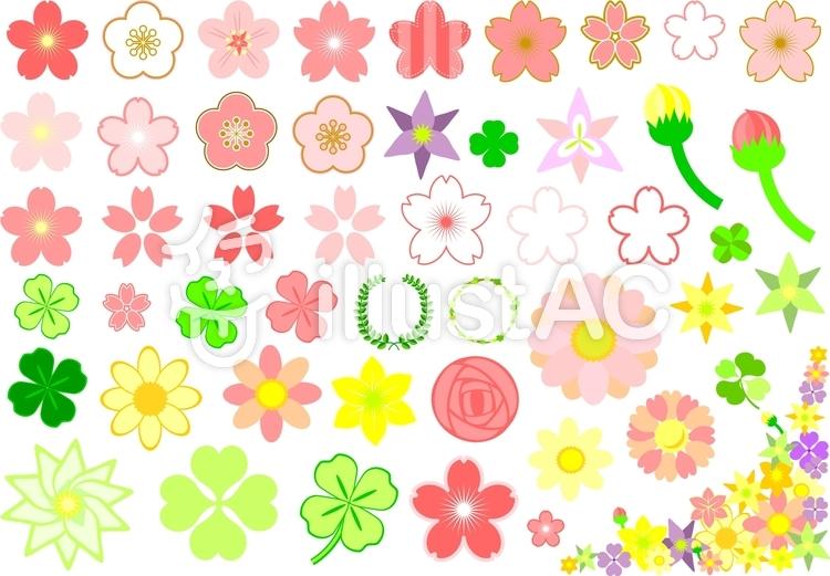 春の花イラスト No 1034752無料イラストならイラストac