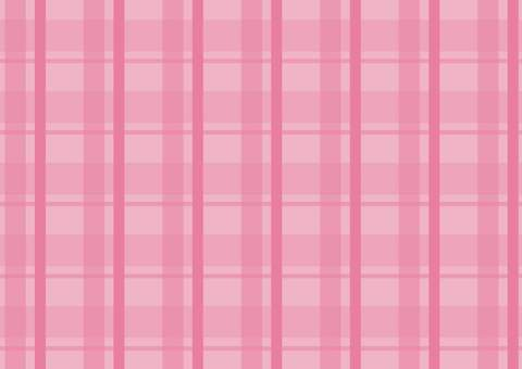 Check pattern pink background
