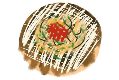 Okonomiyaki Source Iron plate