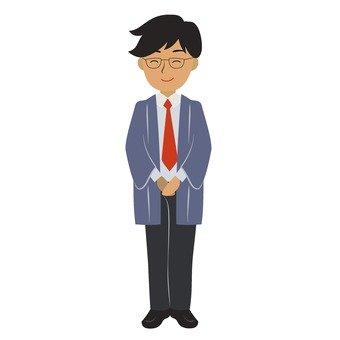 Ryokan employee 1