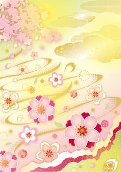 Sakura motif