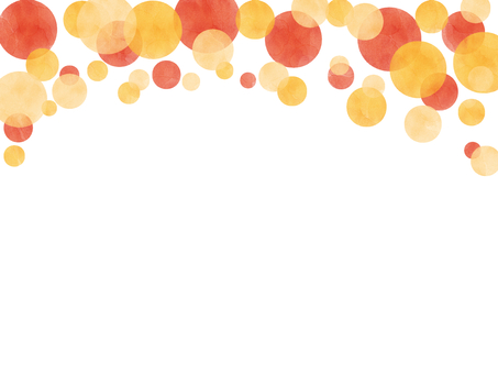 Watercolor polka dot