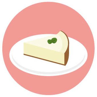 간단한 레어 치즈 케이크