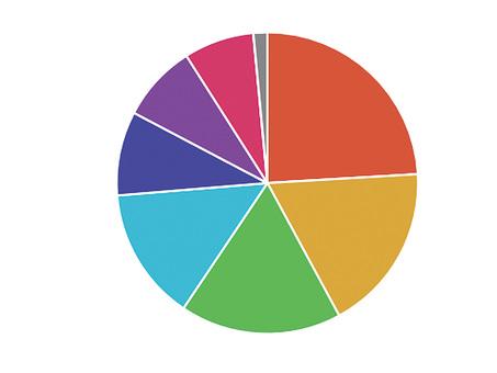 Portfolio pie chart