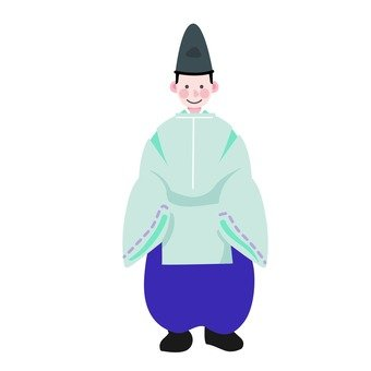 The aristocratic man of the Heian period (3)