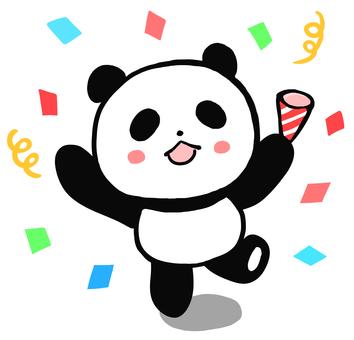 축하 팬더 2