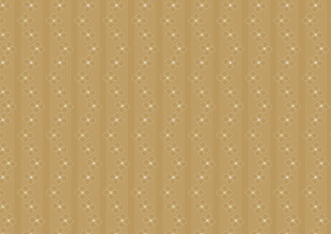 Floret Wallpaper Diamond Flower Brown