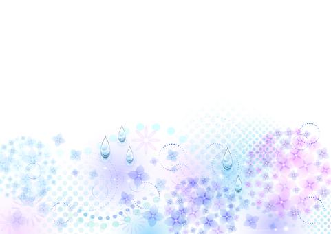 Rainy season image material 100