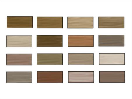Wood grain tone set