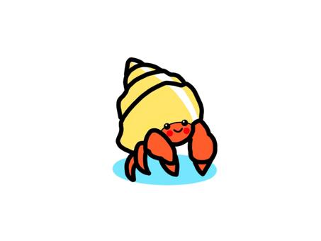 Hermit crab_smiling