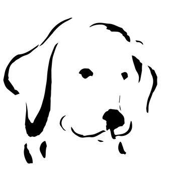 戌 Illustration dog