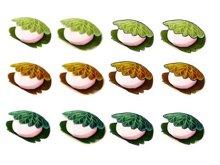 Sakura rice 3 colors