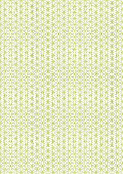 Japanese Pattern Green Geometry