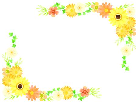 黄色い春の花01