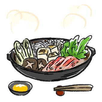Sukiyaki hotpot