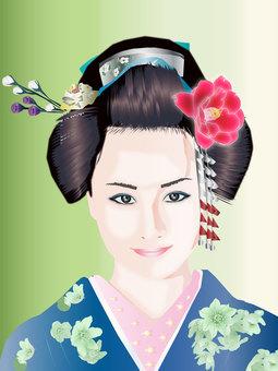 Japanese hair woman 03