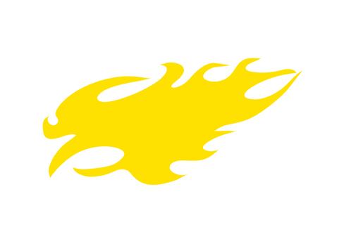 Fire pattern 1 _ Yellow