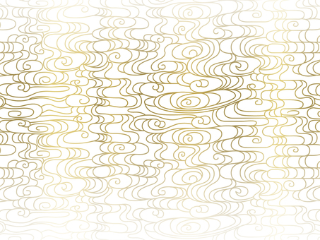 Abstract wave pattern on white ground Fri 3