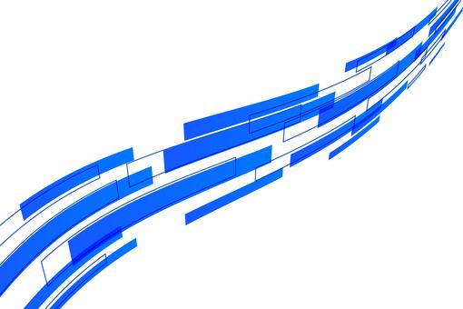 Square wave Blue
