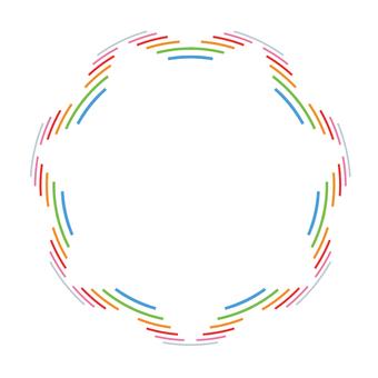 Circular material - 121