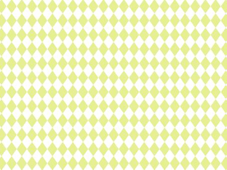 Diamond pattern pattern lime green background