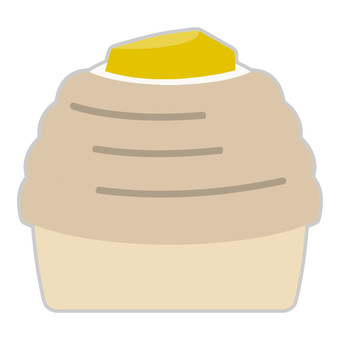 케이크 (몽블랑)