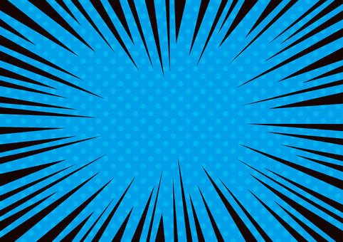 Concentrated line · Effect line ☆ Dot pattern background material