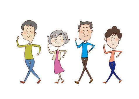Healthy life expectancy _ walking