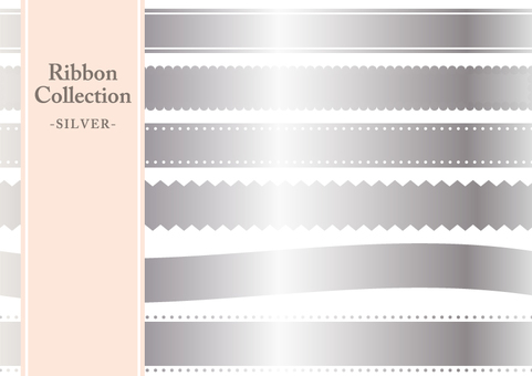 Ribbon Collection (Silver)